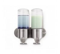 Дозатор рідкого мила подвійний 2*0,444 л. BT 1028