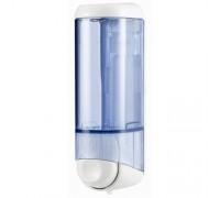 Дозатор рідкого мила 0.25 л, білий/прозорий, пластик. A60501