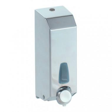 Дозатор піни наливний, глянсовий метал 1 л. 806 inox.