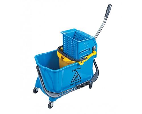 Відро для прибирання на колесах з віджимом HTS730