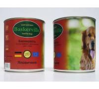Консервований корм супер-преміум класу для собак Baskerville, (Німеччина) Яловичина 400 г.
