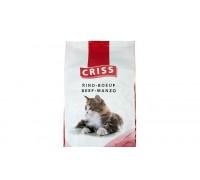 Сухий корм преміум класу для дорослих і старих котів CRISS, (Німеччина)   Яловичина, 10кг