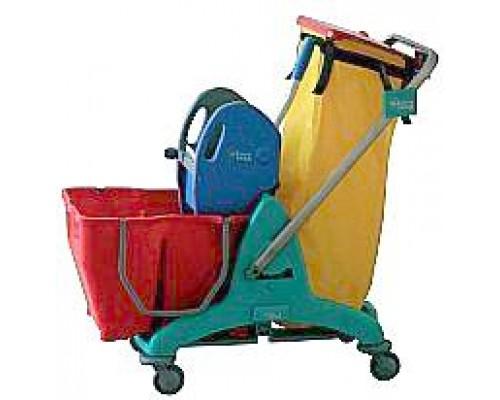 Візок прибиральний 3P подвійне відро 2х15л