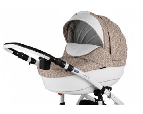 Дитячий візок Adamex Galactic 50% шкіра колір 718S