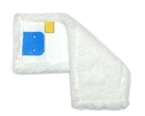 Моп (вкладка) з кишенями, відворотами з мікрофібри, 40 см, MB057-WP