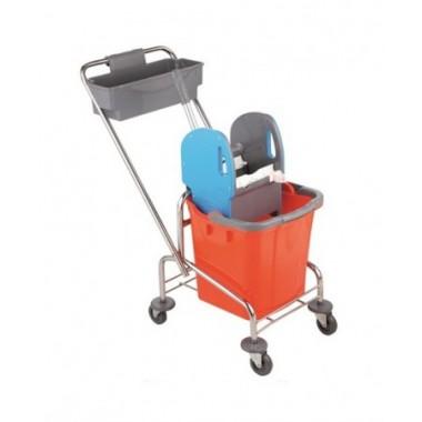 Візок для прибирання Uctem хром, TK720