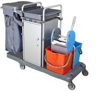 Візок для покоївок з шафою для інвентарю Uctem KA802SB